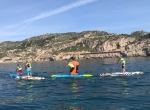 Paddle Sup Race